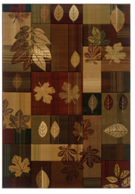 United Weavers Contours Carleo Entertainment Management Collection Autumn Bliss Rectangular Rug