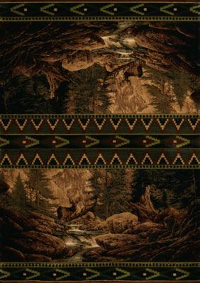 United Weavers Contours Carleo Entertainment Management Collection Buck Falls Rectangular Rug