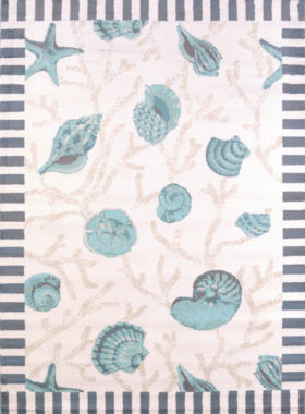 United Weavers Regional Concepts Collection ShellsRectangular Rug