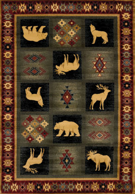 United Weavers Genesis Collection Dakota Rectangular Rug