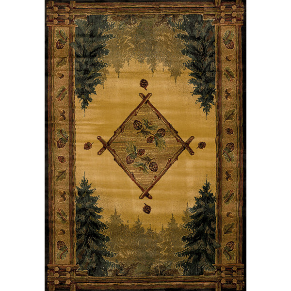 United Weavers Genesis Collection Forest Trail Rectangular Rug