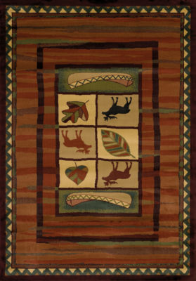 United Weavers Genesis Collection Highland Falls Rectangular Rug