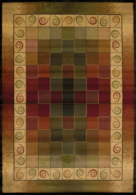 United Weavers Genesis Collection Montage Rectangular Rug