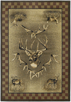 United Weavers Marshfield Genesis Collection White Tail Ridge Rectangular Rug