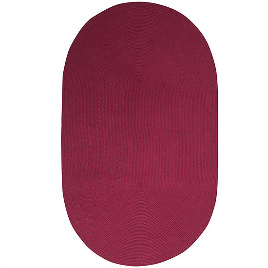 Better Trends Alpine Braided Oval Reversible Rugs