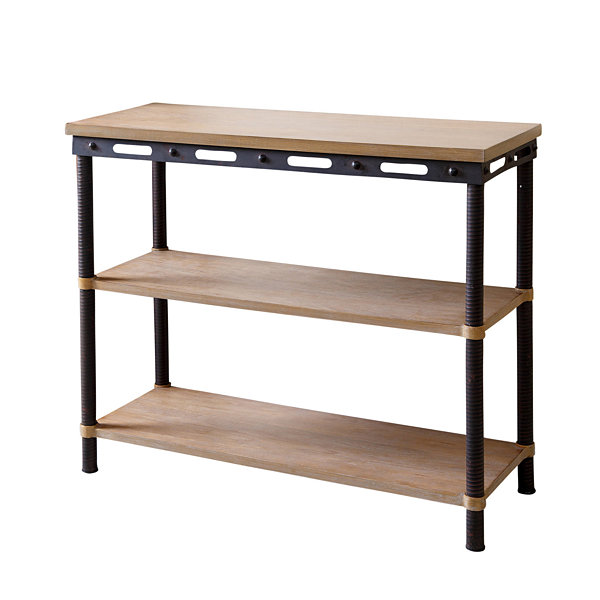 Devon & Claire Northwood Industrial 3 Tier Table