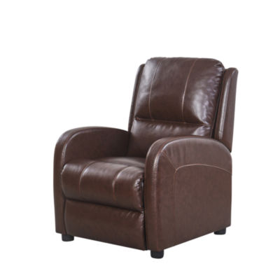 Devon & Claire Andre Pushback Leather Recliner