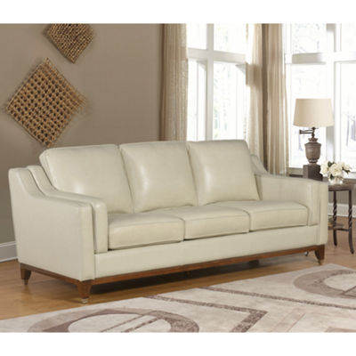 Devon & Claire Edwards Top Grain Leather Sofa