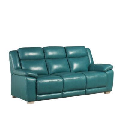 Devon & Claire Bonilla Top Grain Leather Reclining Sofa