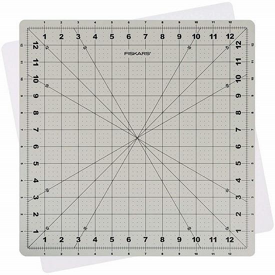 "Fiskars Self-Healing Rotating Cutting Mat - 14"" x 14"""