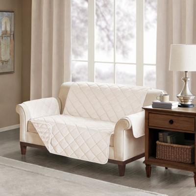 Madison Park Duke Faux Fur Loveseat Protector
