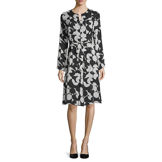 WORTHINGTON BOLD PRINTED DRESS