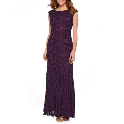 Onyx Sleeveless Evening Gown