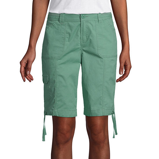 St. John's Bay Cargo Bermuda Short - Tall