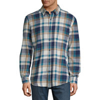 St. John's Bay Long Sleeve Flannel Shirt Deals