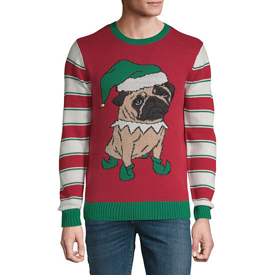 d3d92786 Novelty Season Ugly Christmas Sweaters Long Sleeve Holiday Graphic T Shirt  JCPenney