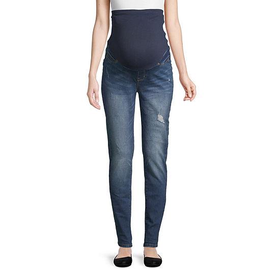 Belle & Sky Maternity Full Panel Skinny Jean