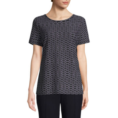 east 5th-Womens Round Neck Short Sleeve T-Shirt