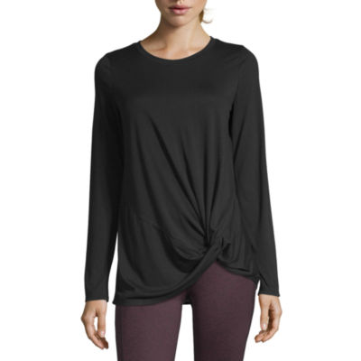 Xersion Studio Front Twist Tee