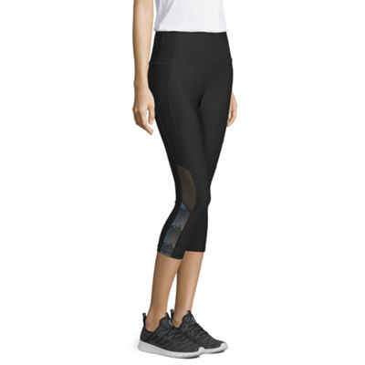 Xersion Reflective Mid Rise Capri