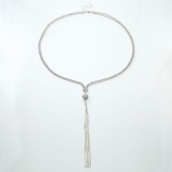Bijoux Bar Link Y Necklace