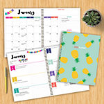 Tf Publishing 2020 Pineapple Party Large Weekly Monthly Planner