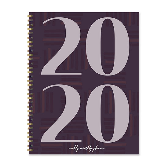 Tf Publishing 2020 Plum Year Large Weekly Monthly Planner