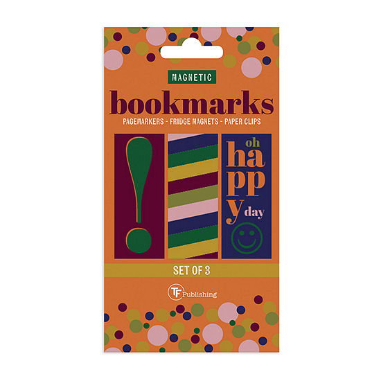 Tf Publishing Magnetic Bookmarks - Pack of 3
