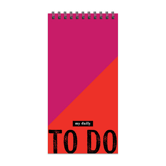 Tf Publishing Bold To Do List Daily Agenda Planner