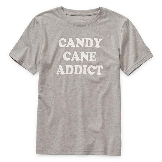 North Pole Trading Co. Unisex Crew Neck Short Sleeve Graphic T-Shirt - Preschool / Big Kid
