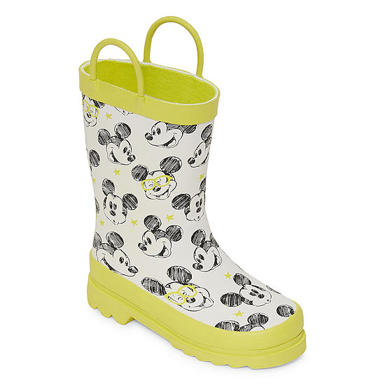 Disney Collection Little Kid/Big Kid Boys Mickey Mouse Rain Boots