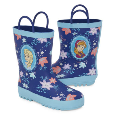 Disney Collection Little Kid/Big Kid Girls Frozen Rain Boots