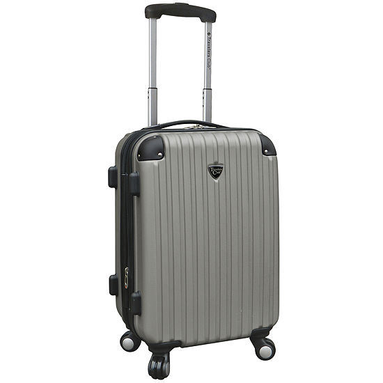 """Travelers Club® Chicago 20"""" Hardside Expandable Spinner Carry-On Upright Luggage"""