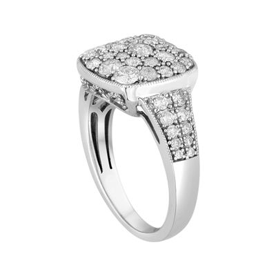 LIMITED QUANTITIES! 1 1/4 CT. T.W. Diamond 10K White Gold Ring
