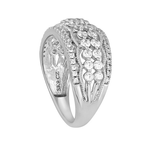 LIMITED QUANTITIES 1 CT. T.W. Diamond 10K White Gold Ring