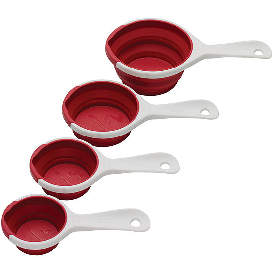 Chef'n® Sleekstor™ Pinch + Pour™ Collapsible Measuring Cups