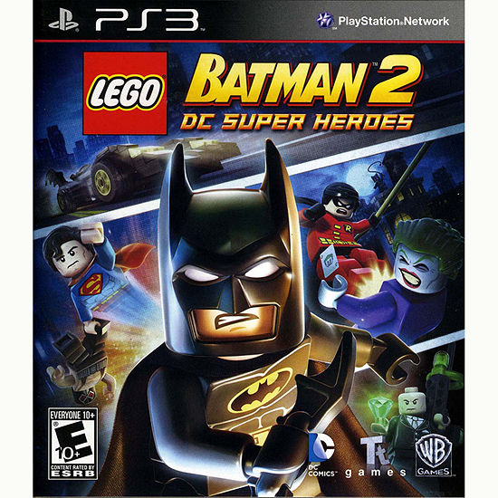 Lego Batman 2 Super Hero Video Game-PS3