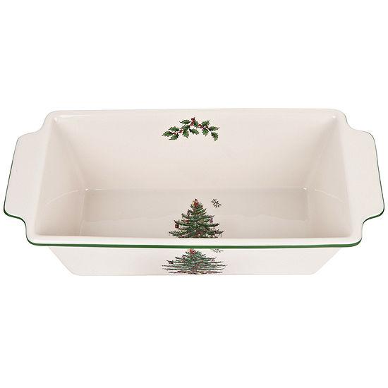 Spode Christmas Tree Loaf Pan