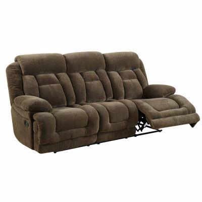 Haney Transitional Fabric Pad-Arm Sofa