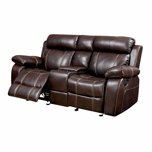 Verona Transitional Pad-Arm Loveseat