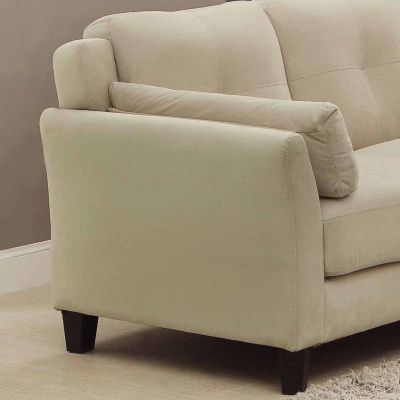 Elwes Contemporary Track-Arm Tufted Sectional