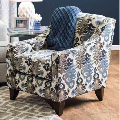 Meriza Contemporary Fabric Club Chair