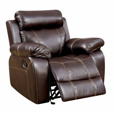 Verona Transitonal Faux Leather Club Chair