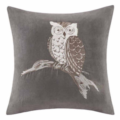 Madison Park Owl Square Throw Pillow