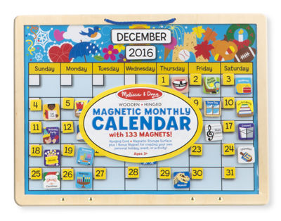 Melissa & Doug® Monthly Magnetic Calendar
