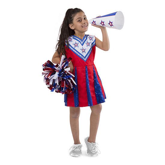 Melissa & Doug Cheerleader - Role Play Set Unisex Costume