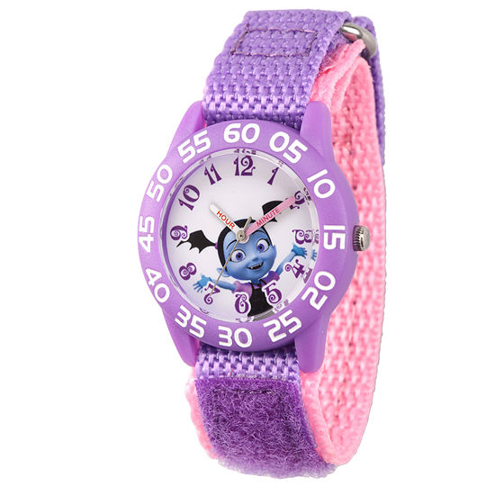 Vampirina Girls Purple Strap Watch-Wds000413