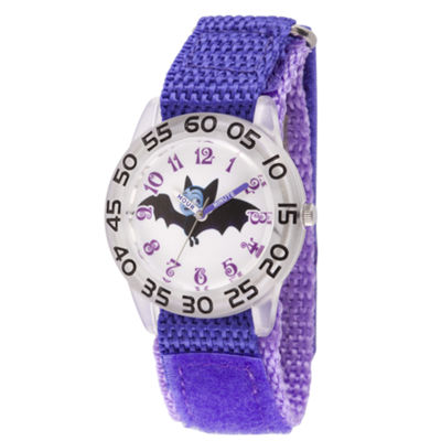 Disney Girls Purple Strap Watch-Wds000414