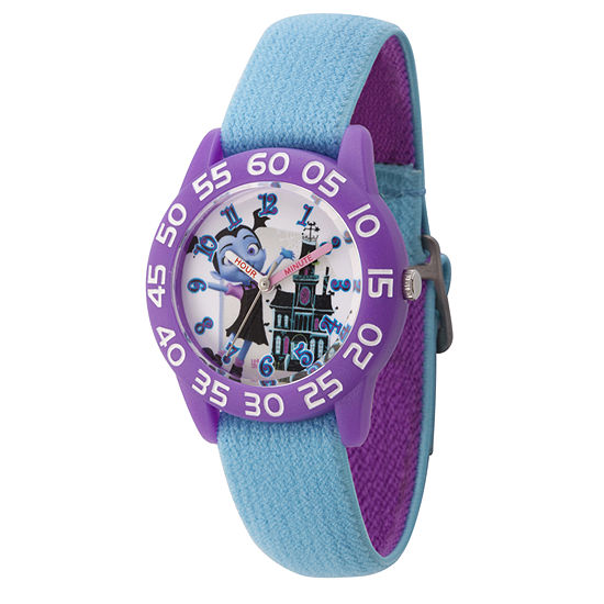 Disney Vampirina Girls Blue Strap Watch Wds000416