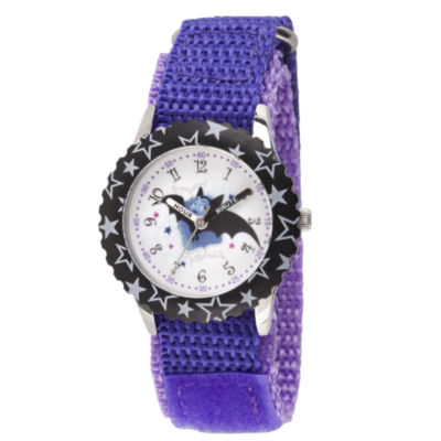 Disney Girls Purple Strap Watch-Wds000419